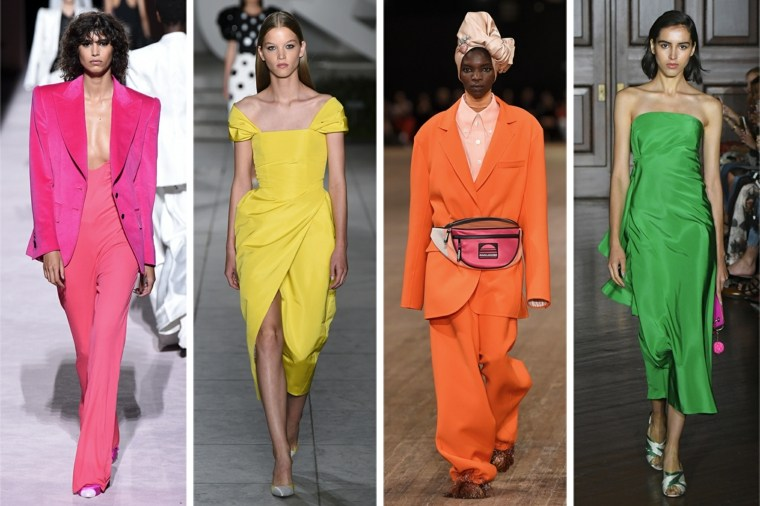 The bright summer 18 colours